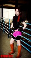 A Valkyrie's Strength-RE2 Claire Redfield Cosplay