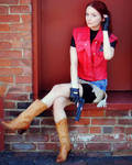 Claire Redfield, Sitting Pretty-RE: DC Cosplay