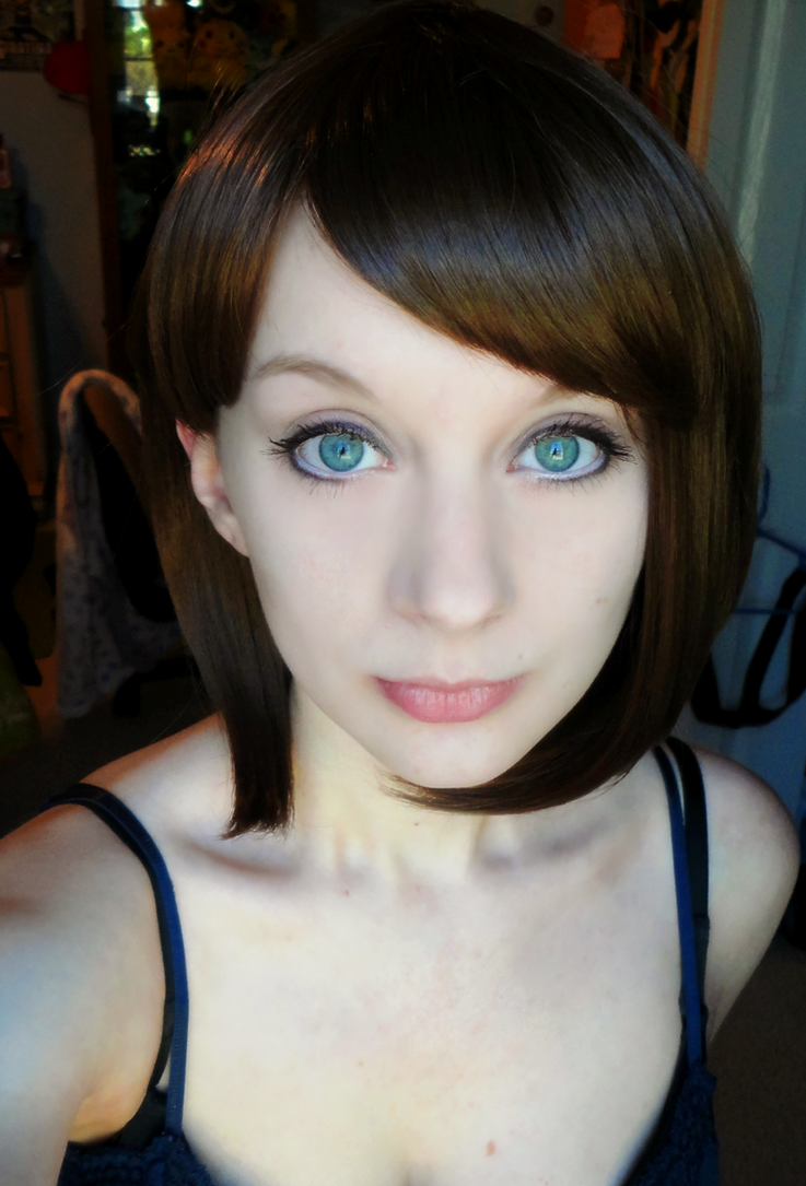 Quick Resident Evil 3 Jill Valentine Wig Test by Hamm-Sammich