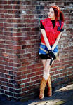 The Nightmare Ahead-RE: DC Claire Redfield Cosplay