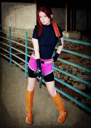 You Lose, Big Guy-RE2 Claire Redfield Cosplay