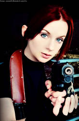 In The Valkyrie's Eyes-RE2 Claire Redfield Cosplay