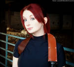 Claire Is Not Amused-RE2 Claire Redfield Cosplay