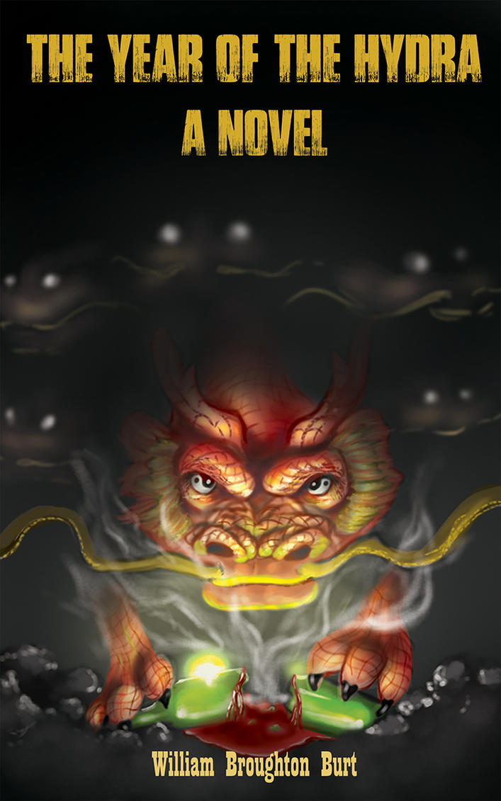 Year of the hydra book cover. by lazpev