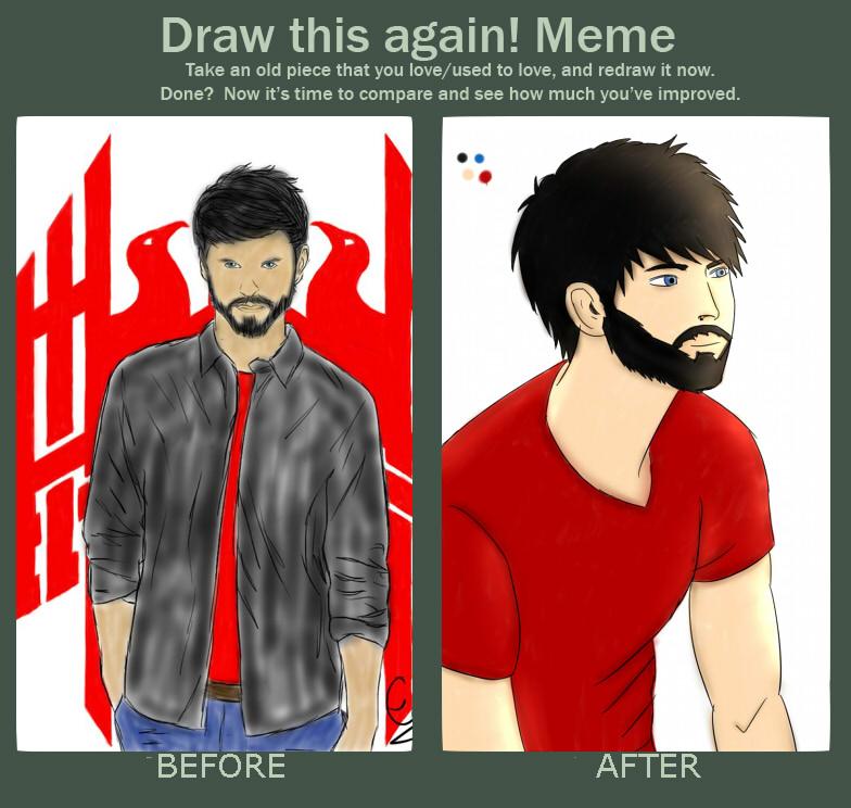 Draw This Again Meme! by Gamble55