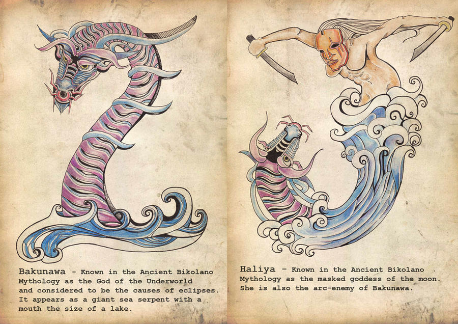 BAKUNAWA: The Moon Eating Dragon of Philippine Mythology