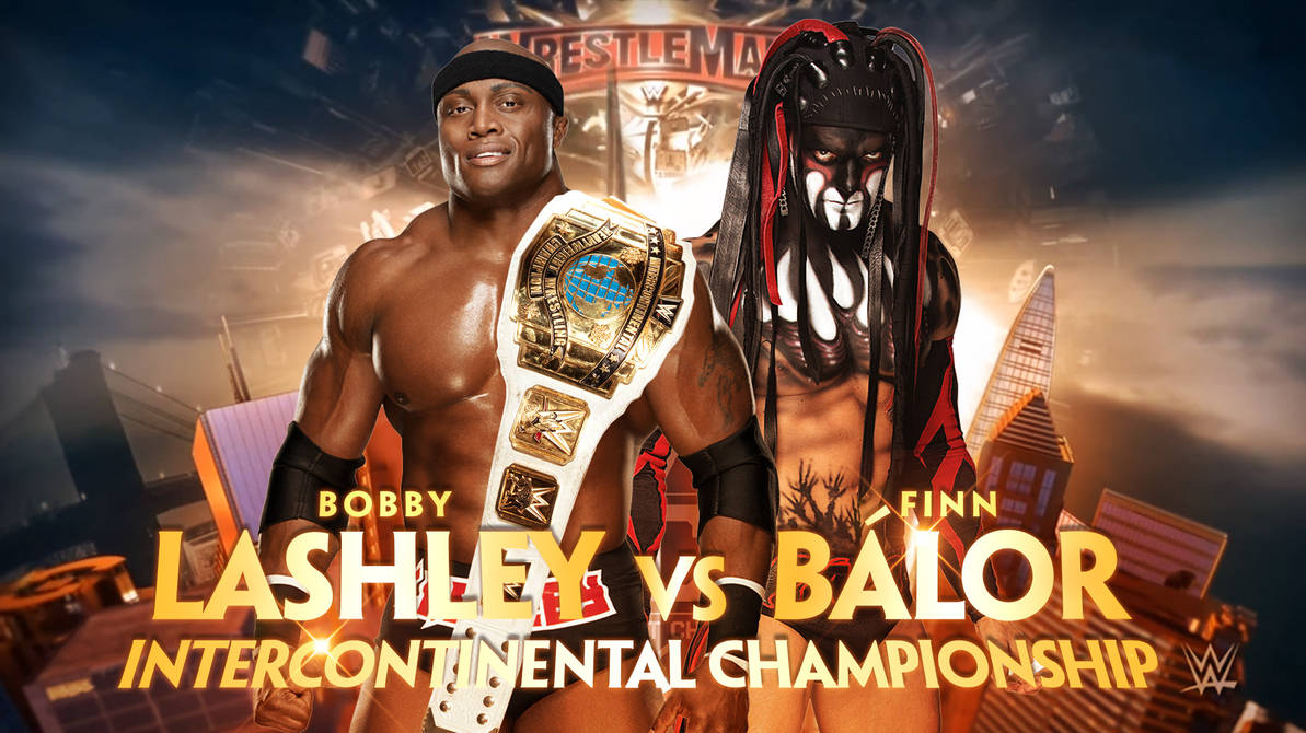 Image result for wrestlemania 35 Bobby Lashley (c) vs. Finn Balor
