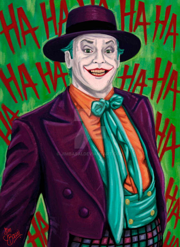 Joker jack nicholson batman 1989 by jimbasai on deviantart - Joker brand wallpaper ...