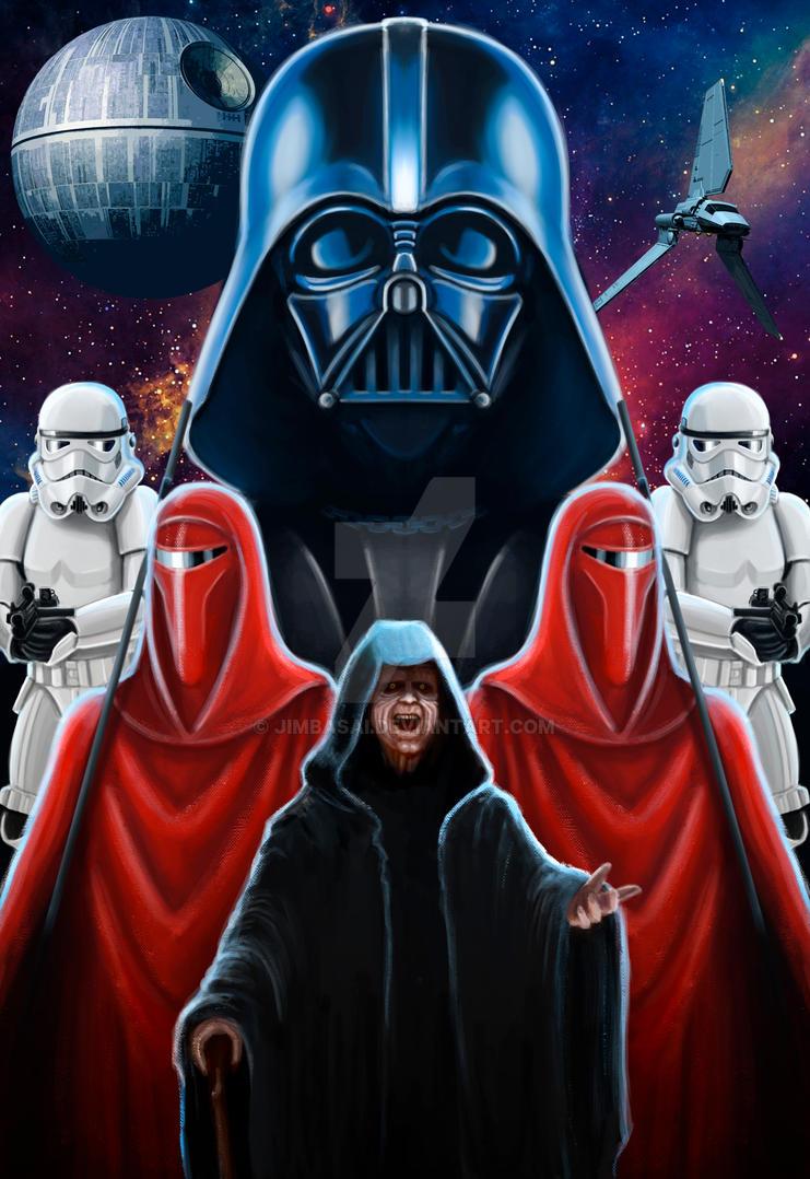 Star wars Empire by JimBasai