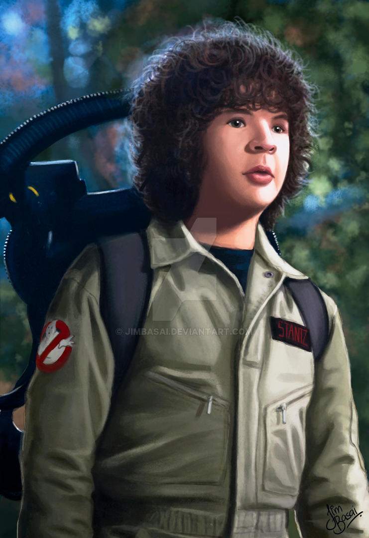 Dustin Ghostbuster by JimBasai