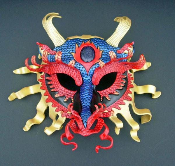 Asian Dragon by merimask