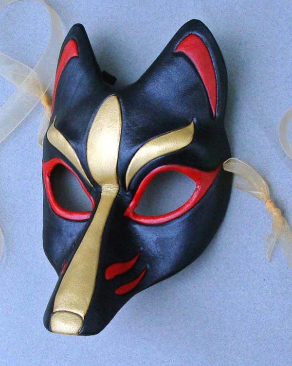 Black Kitsune Mask By Merimask On DeviantArt