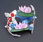 Koi Pond Mask