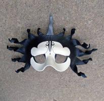 White Oni Mask by merimask