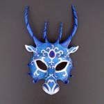 Blue Dragon Mask by merimask
