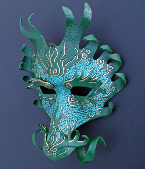 600 x 699 jpeg 85kB, Ancient Dragon Mask by merimask on DeviantArt