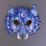 Blue Moon Wolf Mask