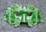 The Green Man...a leather mask