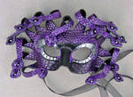 Purple Medusa Mask