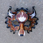 FireFox Leather Mask