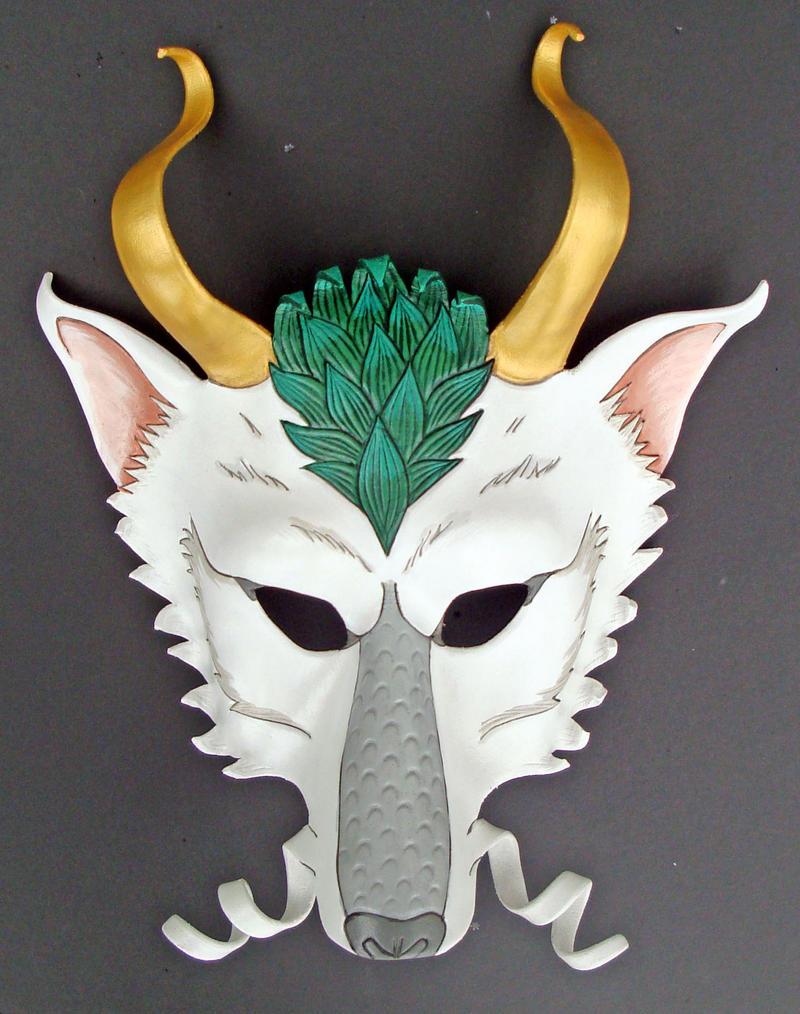 Japanese wolf mask - photo#17