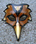 Persian Raven Mask--Brown