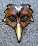 Persian Raven Mask--Brown