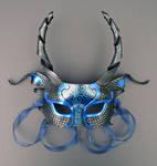 Custom Blue and Black Dragon
