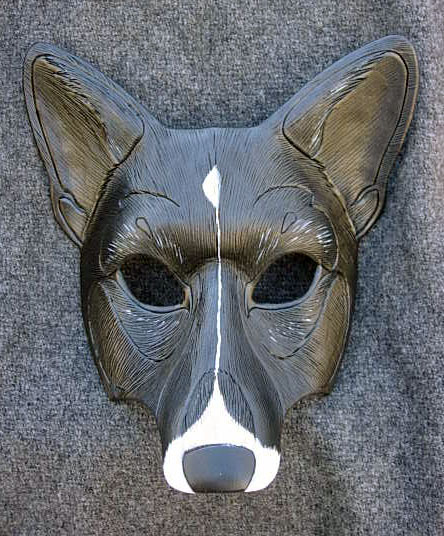 Korky The Corgi...Mask by merimask