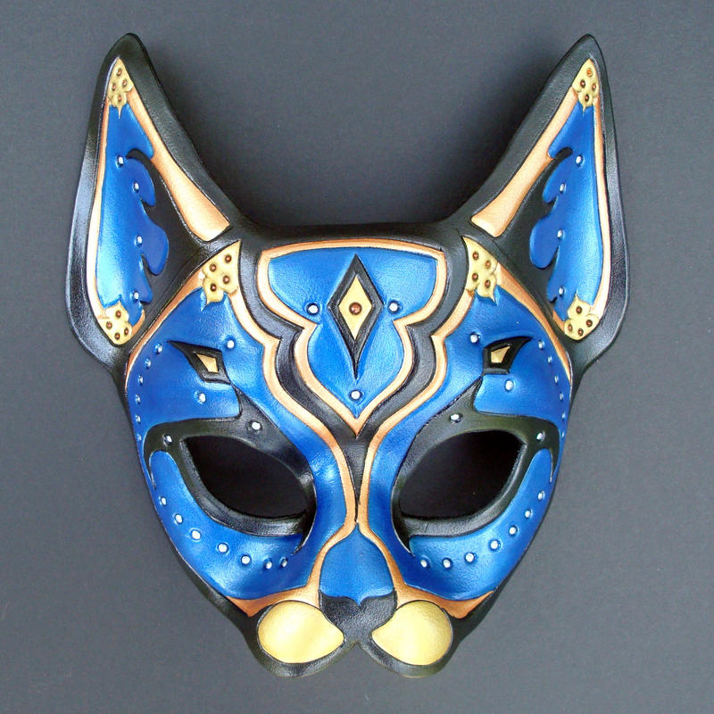blue persian cat mask by merimask on deviantart