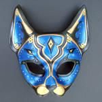 Blue Persian Cat Mask