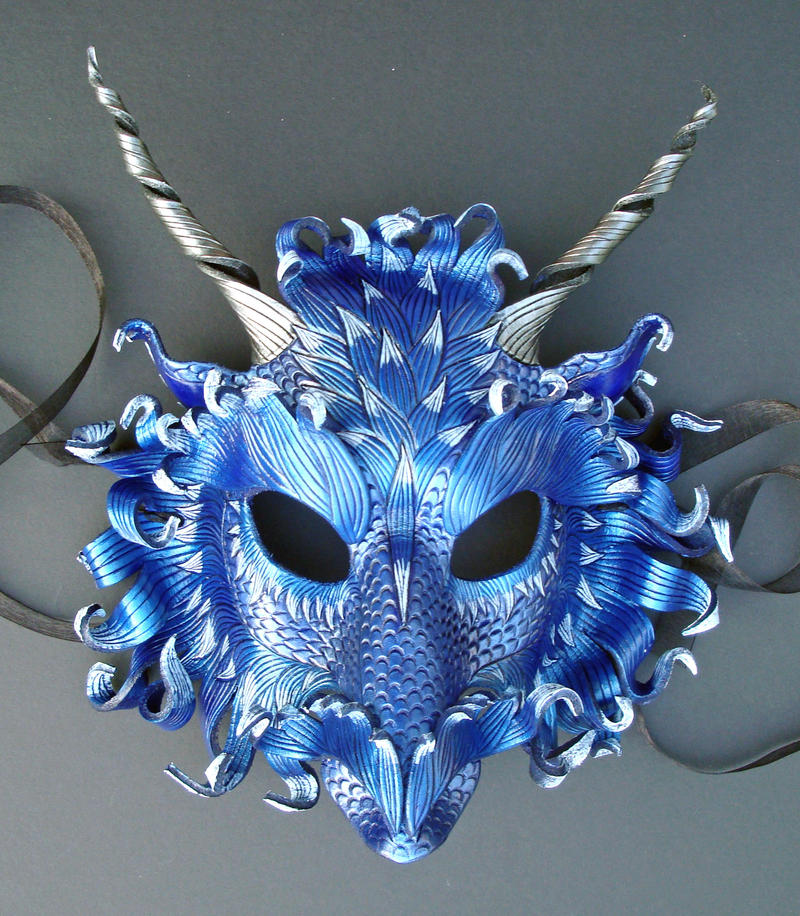 Frost Dragon Mask 3 by merimask