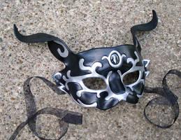 Black Rabbit Of Inle' Mask by merimask