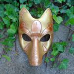 Another Gold Kitsune Mask
