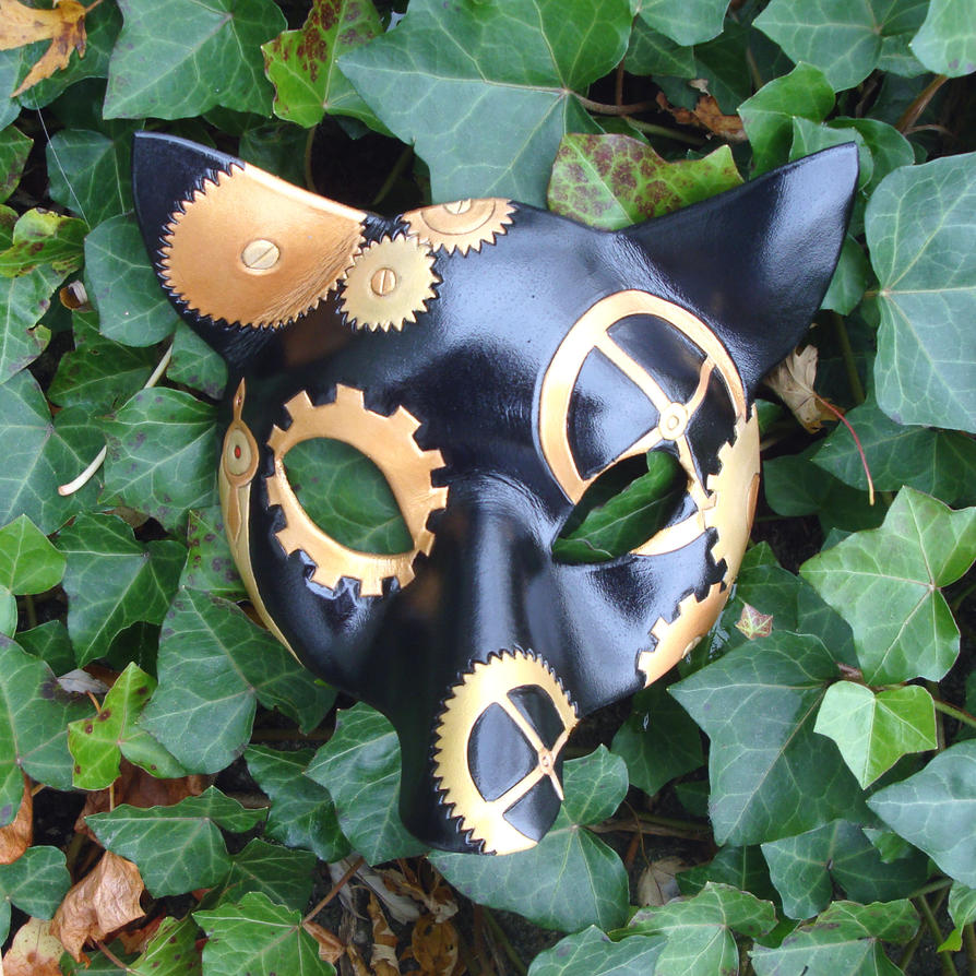 Custom Clockwork Fox Mask by merimask
