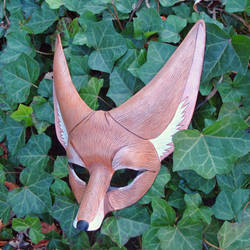 Fennec Fox Leather Mask by merimask