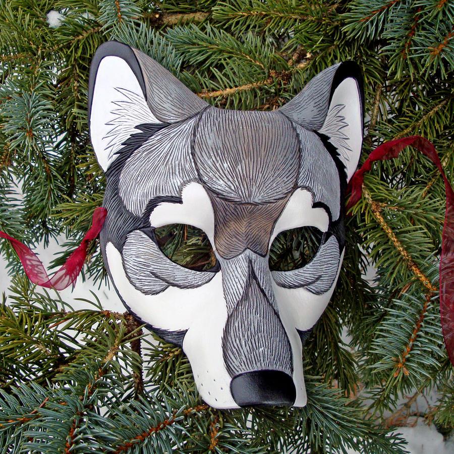 Japanese wolf mask - photo#28