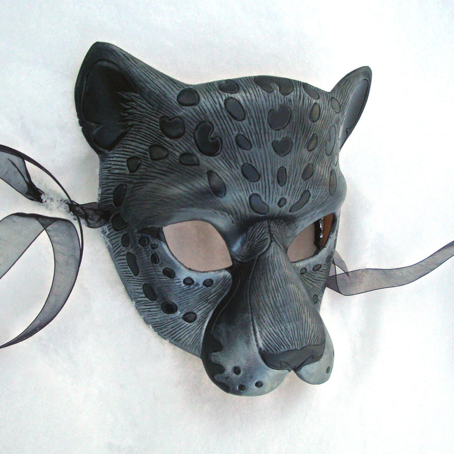 Iron Jaguar Leather Mask by merimask
