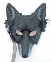 Custom Black Dog Mask by merimask