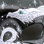 Small White Dragon Detail