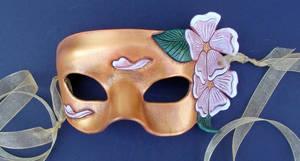 Golden Sakura Mask by merimask