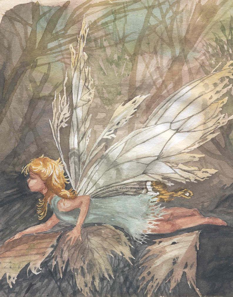Autumn Fairy by merimask