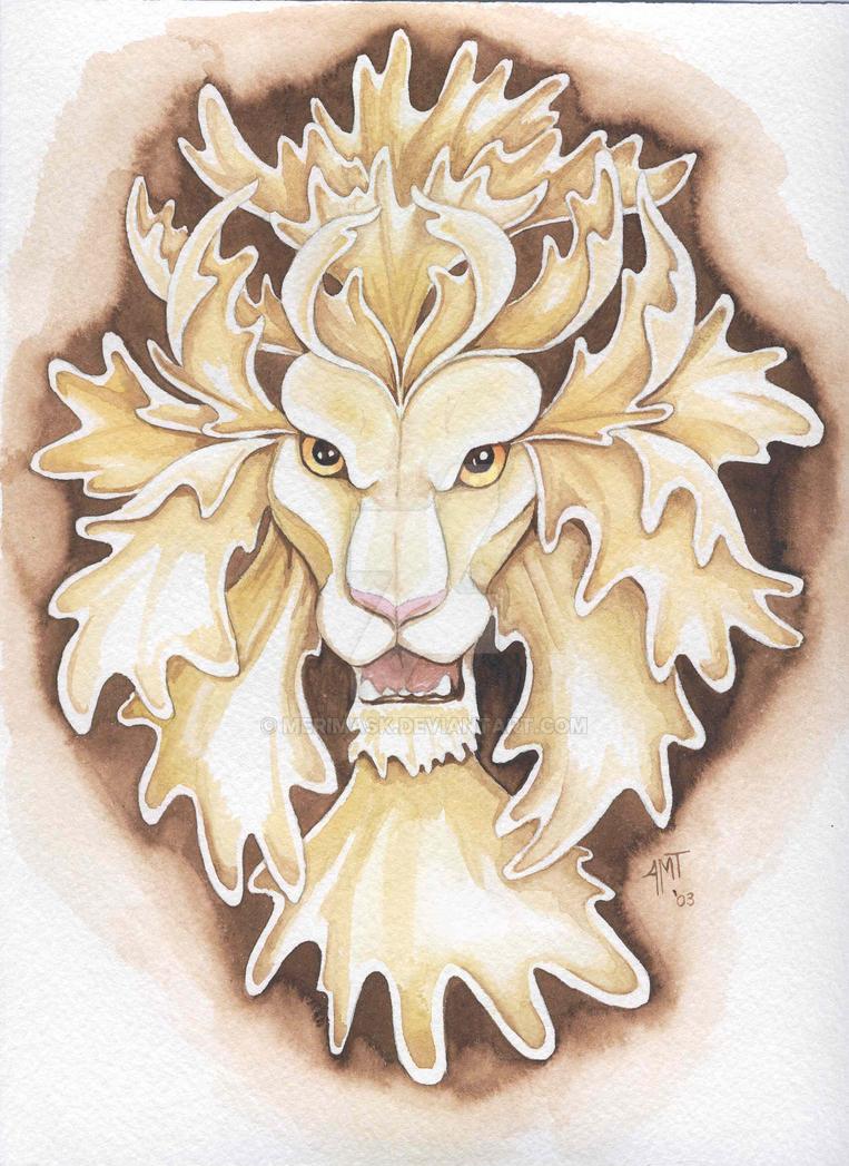 Leaf-maned Lion by merimask