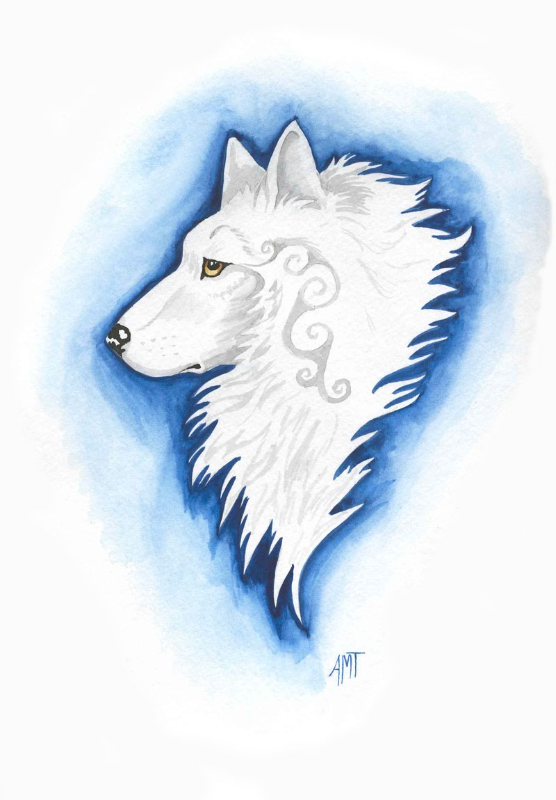 White Wolf by merimask
