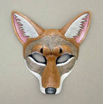 Coyote Leather Mask