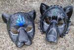 Wedding Mask Pair