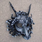 Great Pewter Dragon Mask