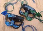 Dragon Mask Pair