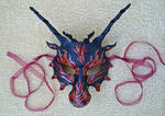 Red Flame Dragon Mask
