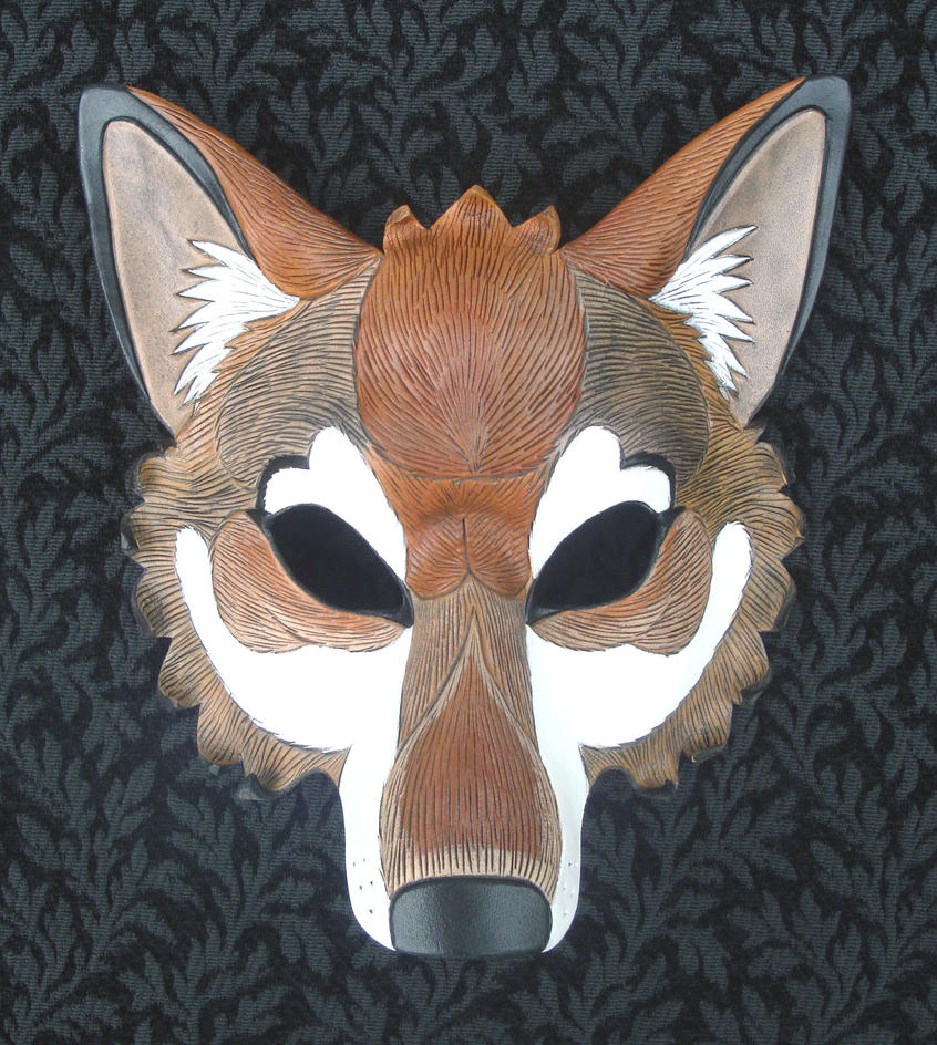 Red Wolf Mask by merimask on DeviantArt